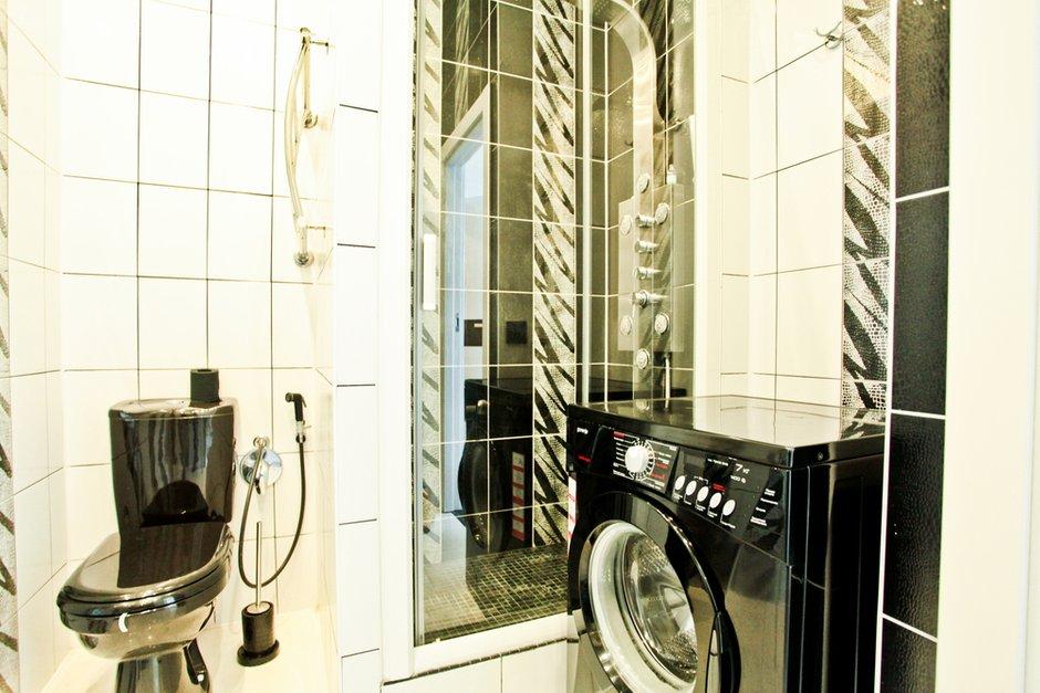 Фотография: Ванная в стиле Современный, Квартира, Цвет в интерьере, Дома и квартиры – фото на INMYROOM