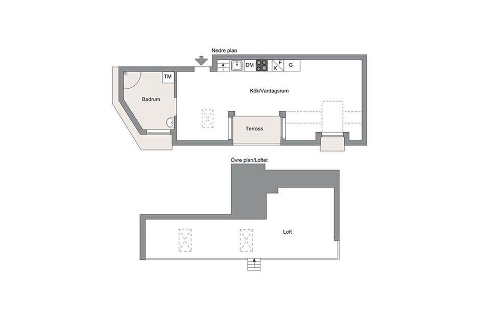Фотография: Планировки в стиле , Декор интерьера, Малогабаритная квартира, Квартира, Дома и квартиры, Минимализм – фото на INMYROOM