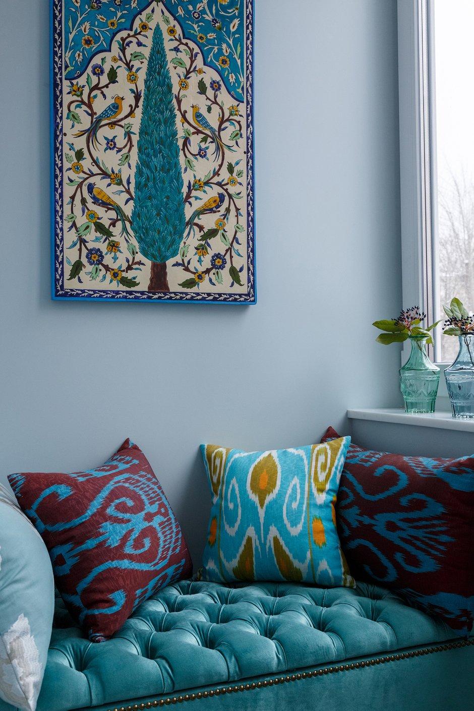 Фотография: Декор в стиле Восточный, Квартира, Проект недели, Москва, Маргарита Мустафина, Кирпичный дом, 3 комнаты, 60-90 метров, II-29 – фото на INMYROOM