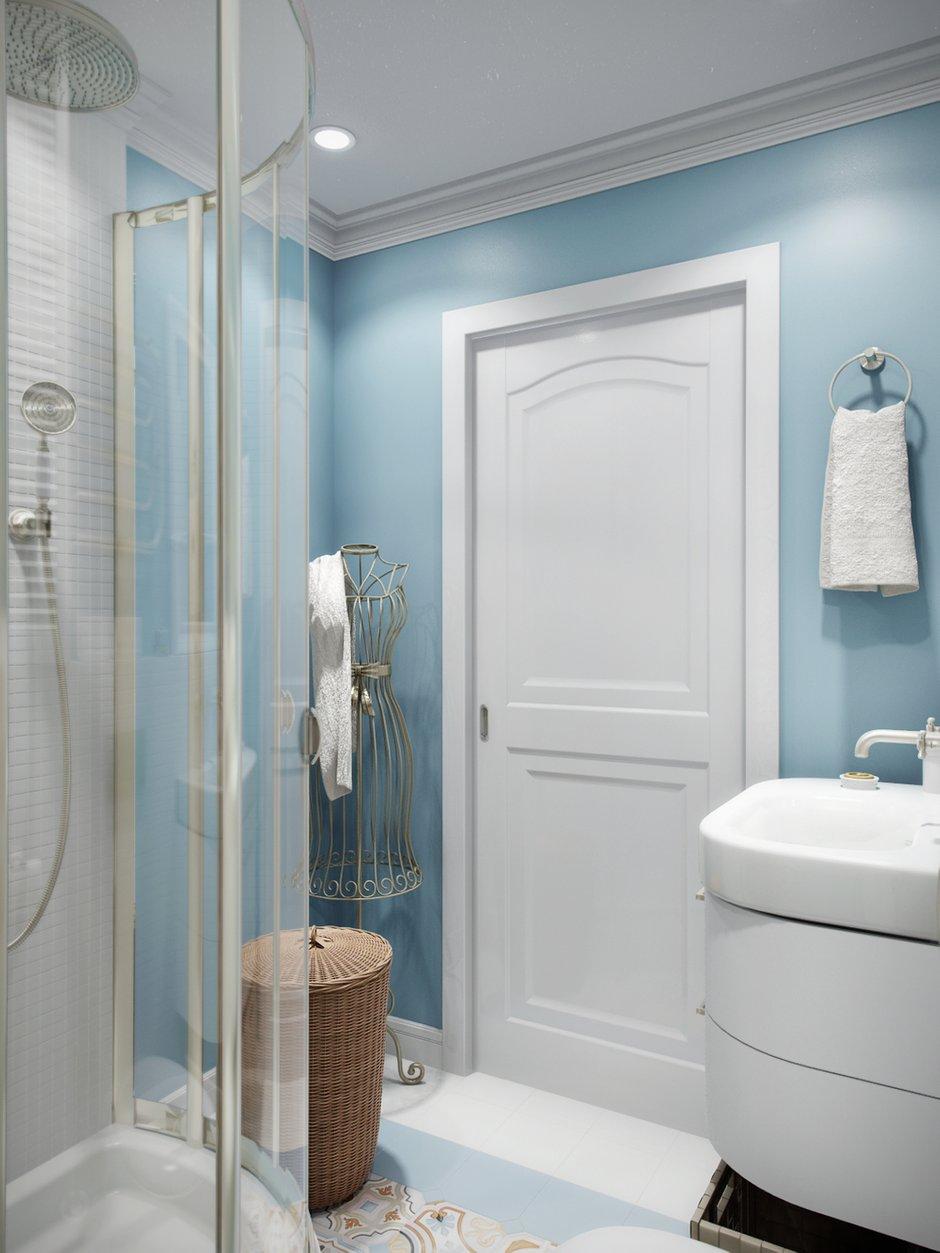 Фотография: Ванная в стиле Прованс и Кантри, Современный, Квартира, Проект недели – фото на INMYROOM