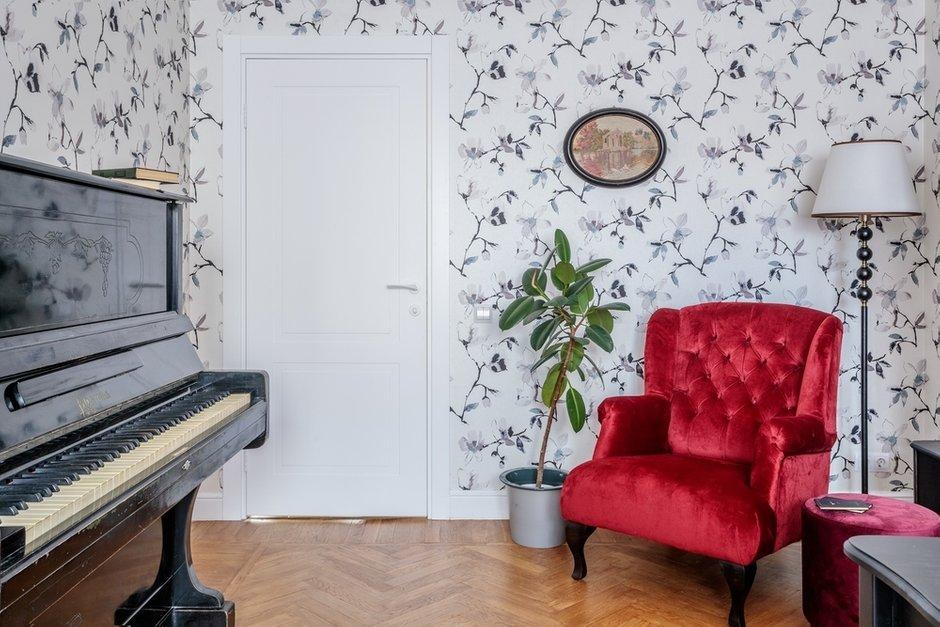 Фотография: Кабинет в стиле Эклектика, Квартира, Проект недели, Москва, 3 комнаты, 60-90 метров, Валерия Шиманская – фото на INMYROOM