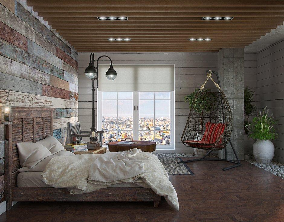 Фотография: Спальня в стиле Лофт, Декор интерьера, Квартира, Foscarini, Restoration Hardware, Дома и квартиры, IKEA, Проект недели – фото на INMYROOM