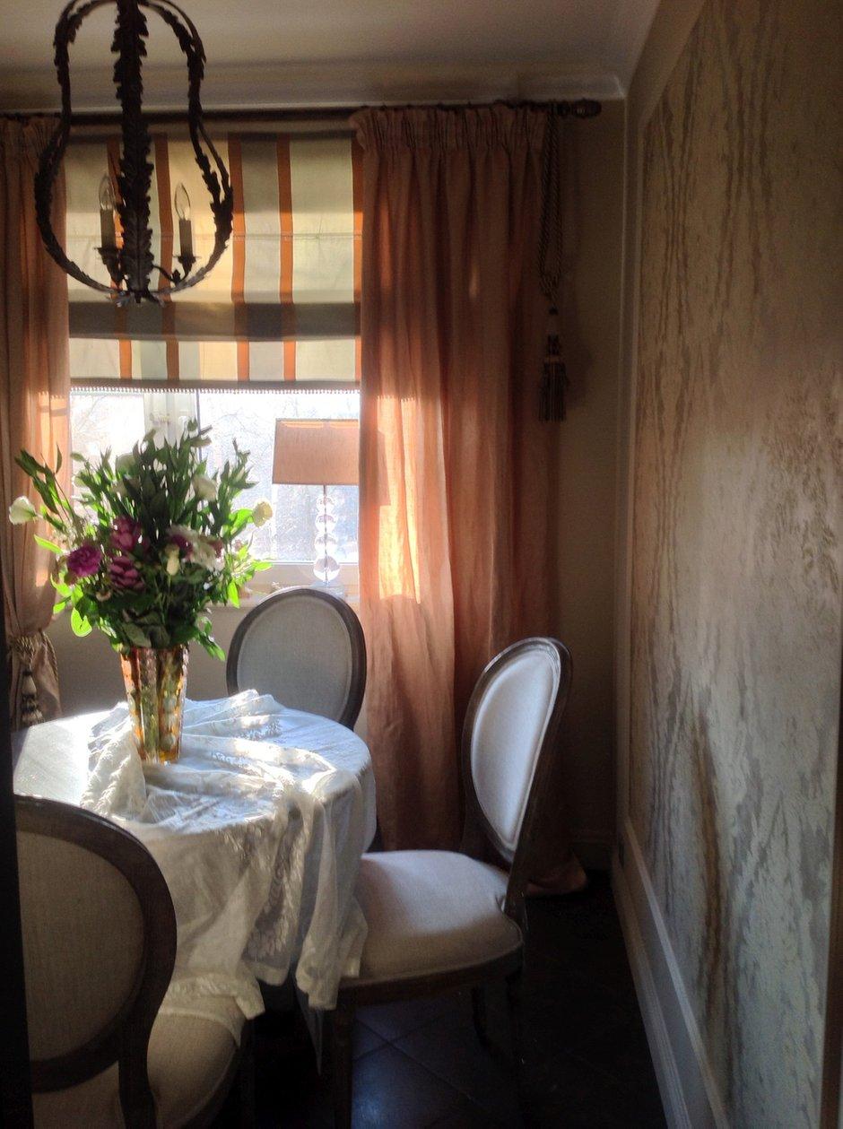 """Фотография: Кухня и столовая в стиле Прованс и Кантри, Классический, Квартира, Дома и квартиры, Проект недели, Школа """"Детали"""" – фото на INMYROOM"""