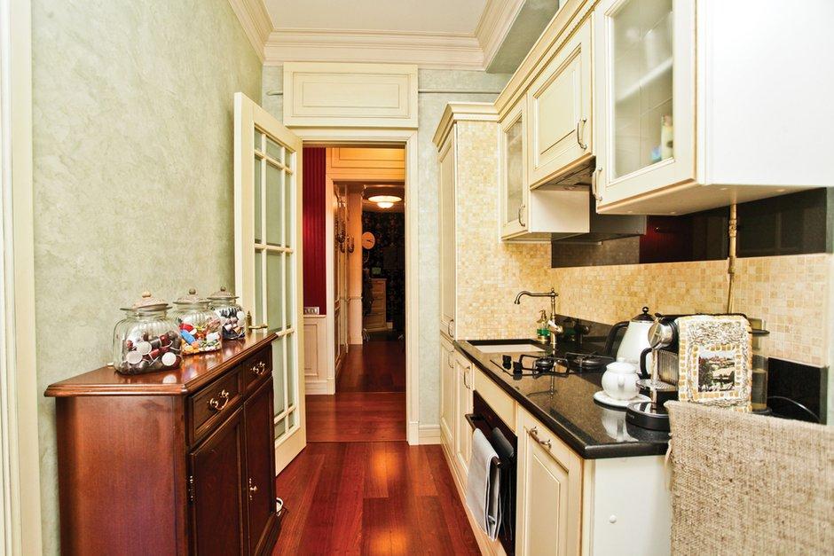 Фотография: Кухня и столовая в стиле Эклектика, Классический, Квартира, Дома и квартиры, Проект недели – фото на INMYROOM