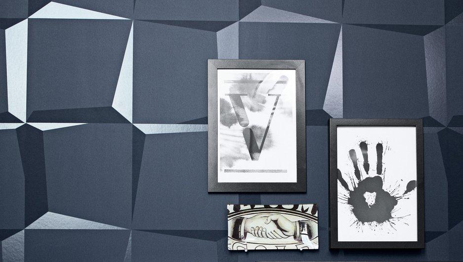 Фотография: Декор в стиле Современный, Эклектика, Декор интерьера, Дизайн интерьера, Цвет в интерьере, Обои, Стены, Эко – фото на INMYROOM