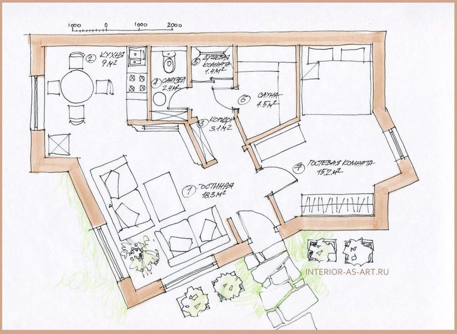Фотография: Планировки в стиле , Декор интерьера, Дом, Дома и квартиры – фото на INMYROOM