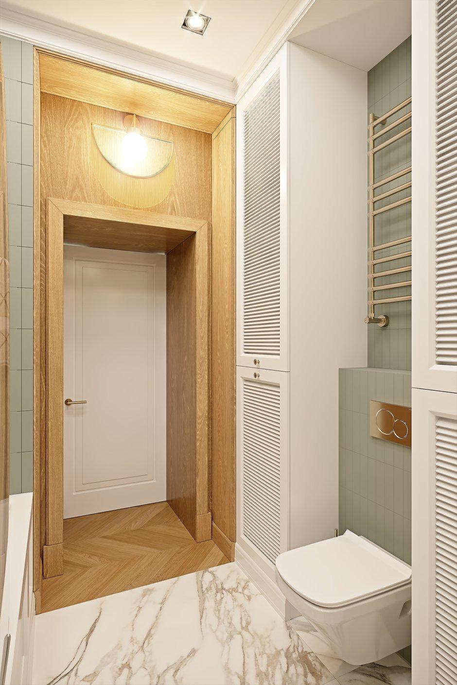 Фотография: Ванная в стиле Современный, Квартира, Проект недели, Москва, Сталинка, 3 комнаты, 60-90 метров, VO Concept – фото на INMYROOM