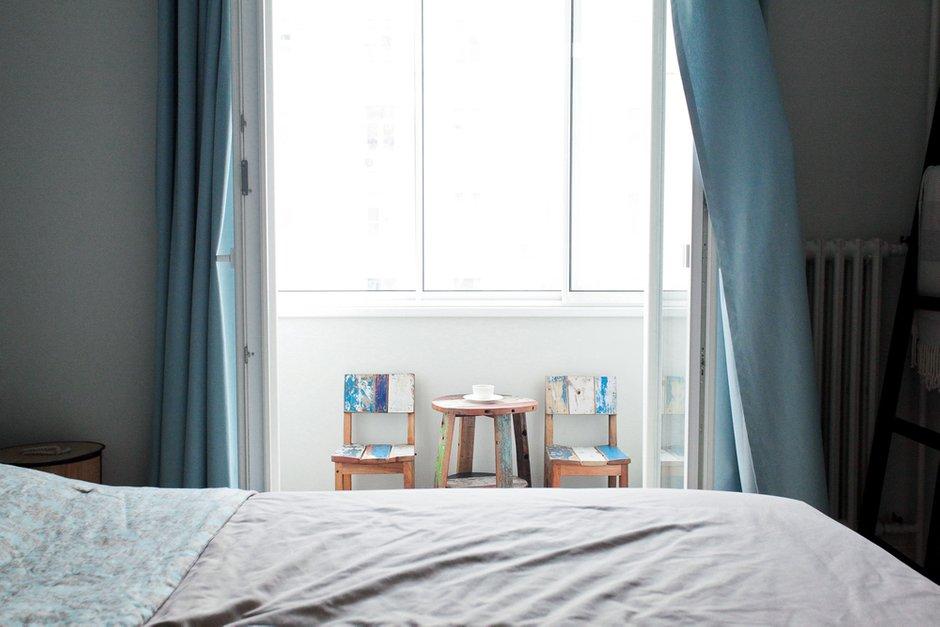 Фотография: Спальня в стиле Лофт, Эко, Скандинавский, Современный, Квартира, Проект недели – фото на INMYROOM