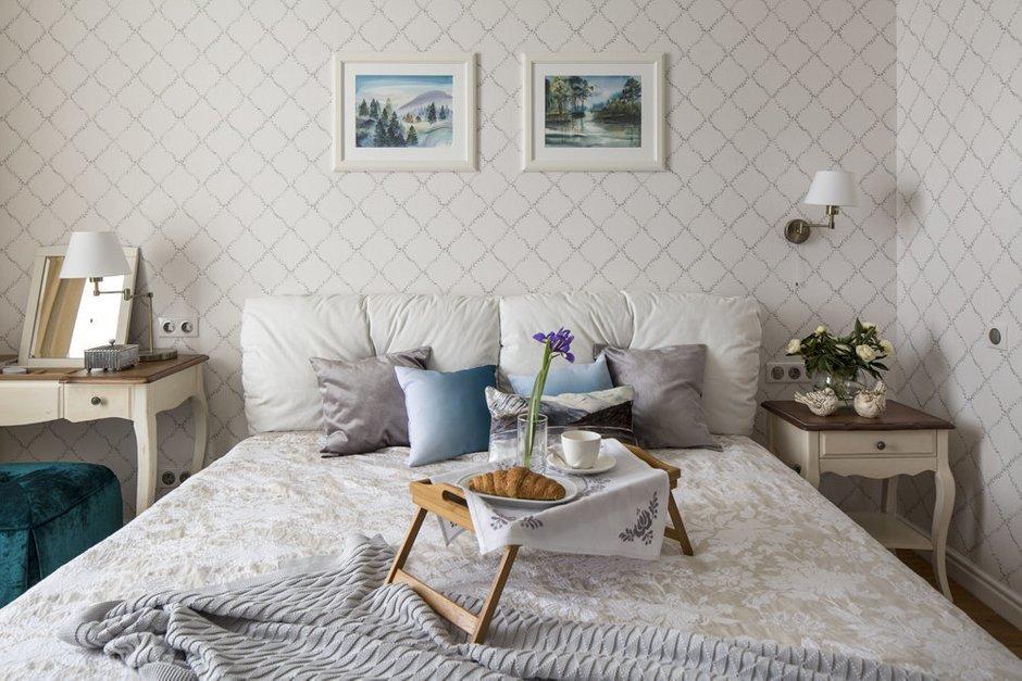 Фотография: Спальня в стиле Прованс и Кантри, Карта покупок, Аксессуары, Декор, Мебель и свет – фото на INMYROOM