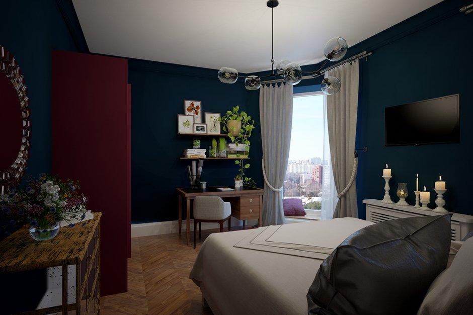 Фотография: Спальня в стиле Прованс и Кантри, Квартира, Проект недели, Санкт-Петербург, Светлана Гаврилова – фото на INMYROOM