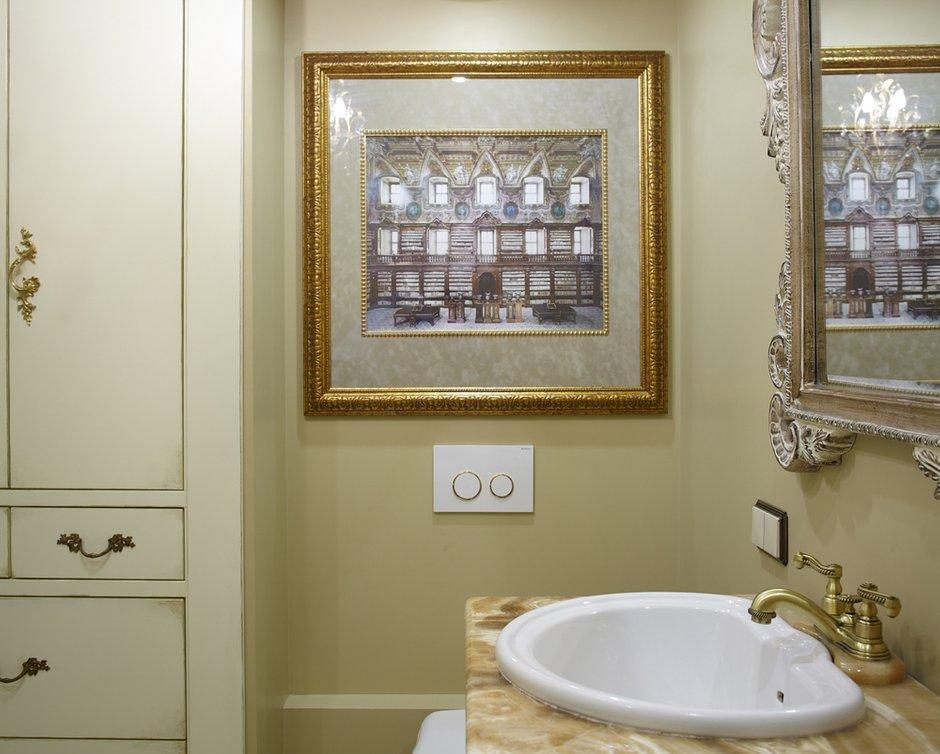 Фотография: Ванная в стиле , Классический, Эклектика, Квартира, Текстиль, Дома и квартиры – фото на INMYROOM