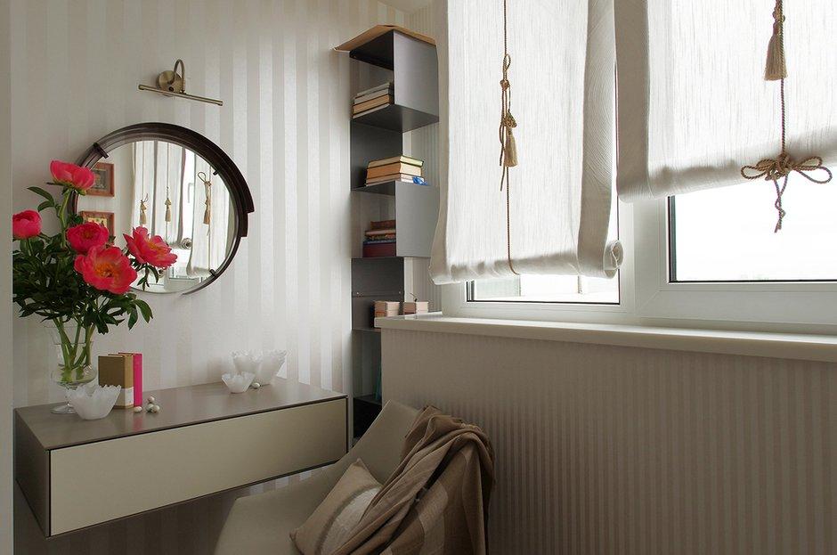 Фотография: Спальня в стиле Современный, Квартира, Проект недели, Москва, Панельный дом, Светлана Бородулина, 2 комнаты, 60-90 метров – фото на INMYROOM
