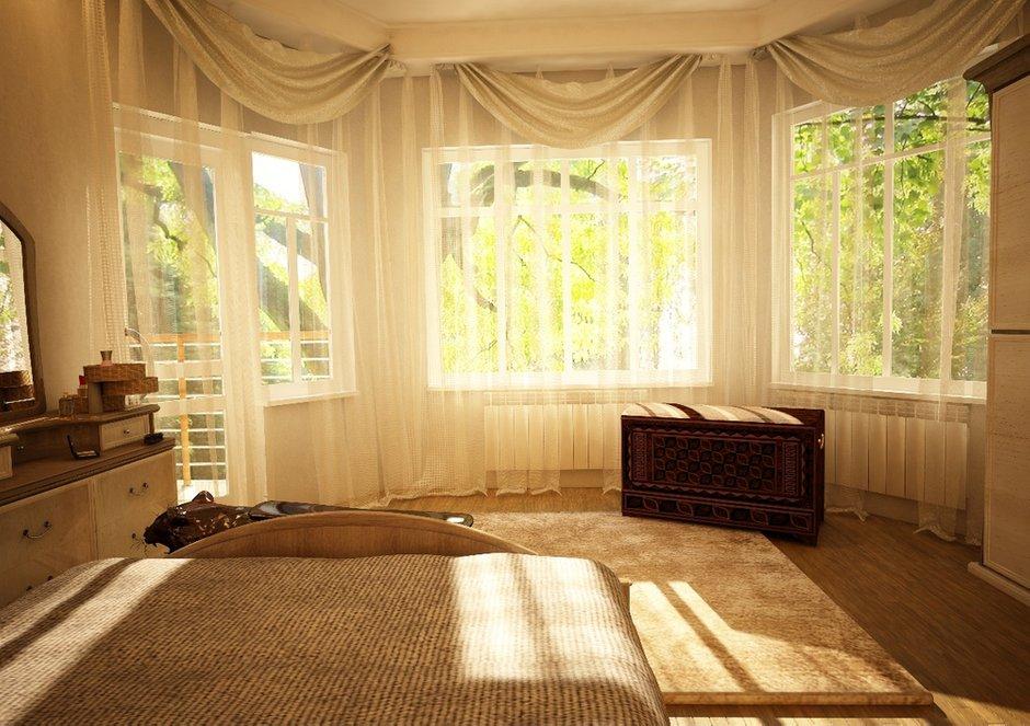 Фотография: Спальня в стиле Современный, Дом, Дома и квартиры, Проект недели, Современное искусство – фото на INMYROOM