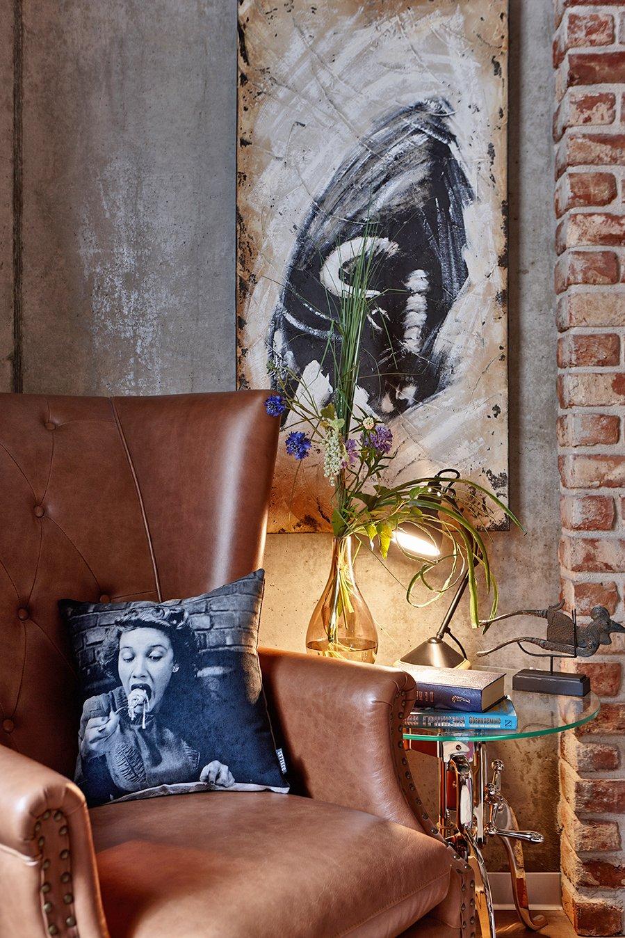 Фотография: Декор в стиле Лофт, Квартира, Проект недели, Москва, Ольга Райская, Монолитный дом, 2 комнаты, 60-90 метров – фото на InMyRoom.ru
