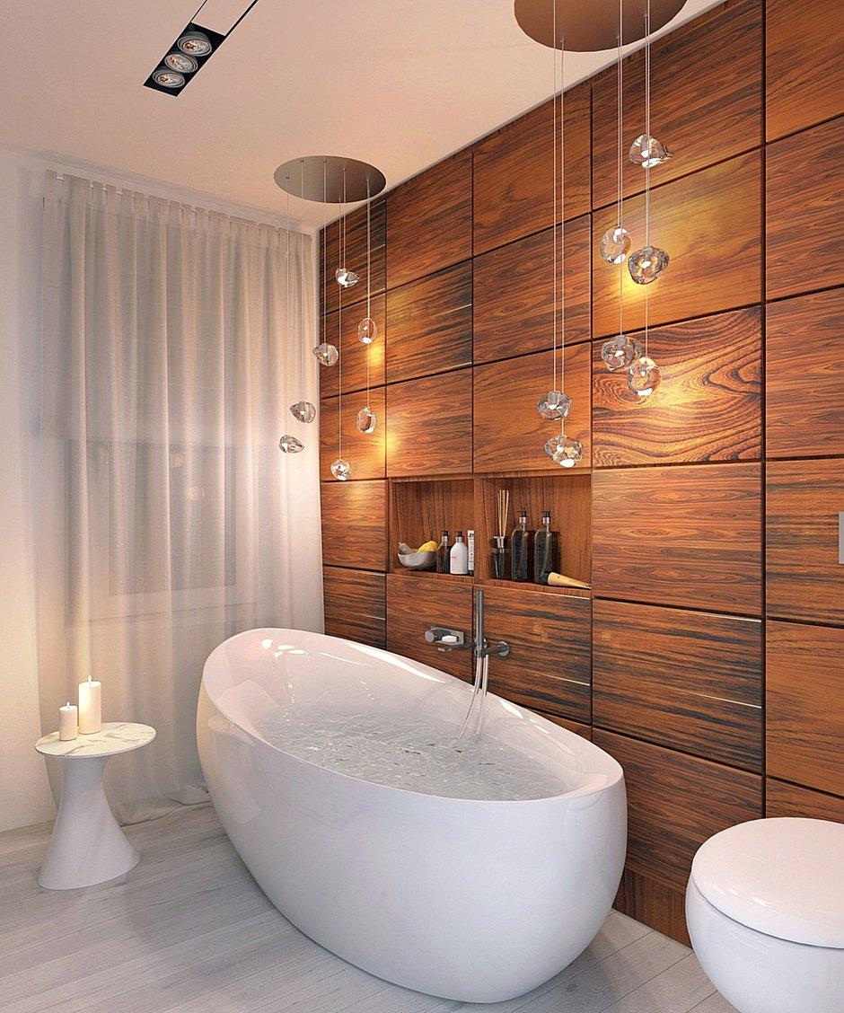 Фотография: Ванная в стиле Эко, Современный, Квартира, Планировки, Проект недели – фото на INMYROOM