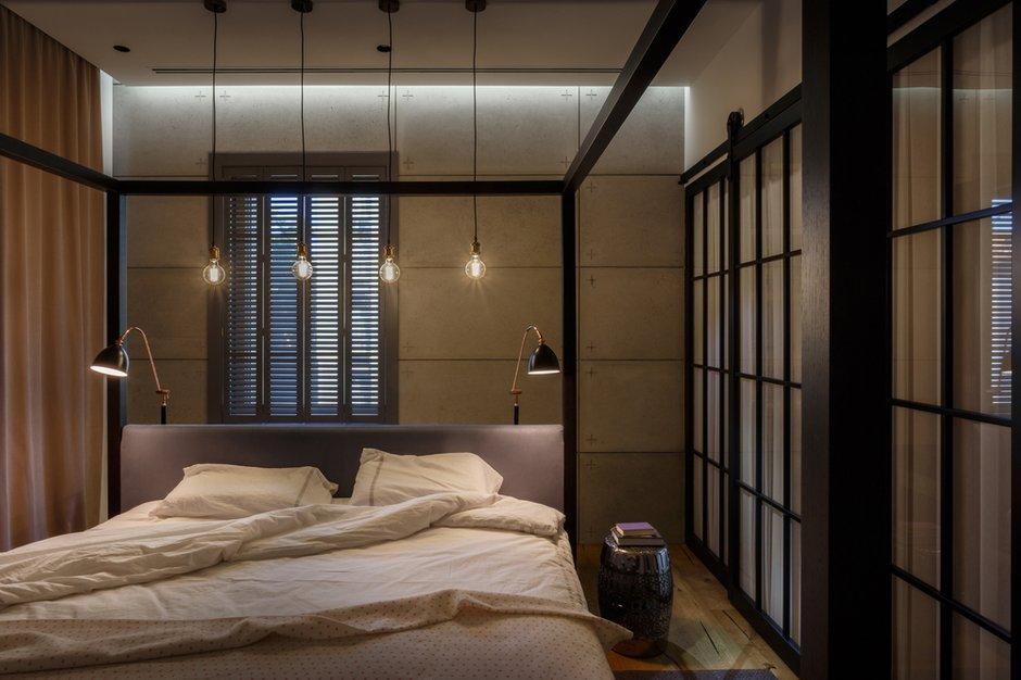 Фотография: Спальня в стиле Лофт, Квартира, Проект недели, Денис Соколов, SVOYA STUDIO – фото на INMYROOM