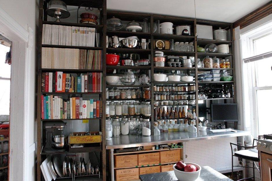 Фотография: Кухня и столовая в стиле , Квартира, США, Дома и квартиры, Библиотека – фото на INMYROOM