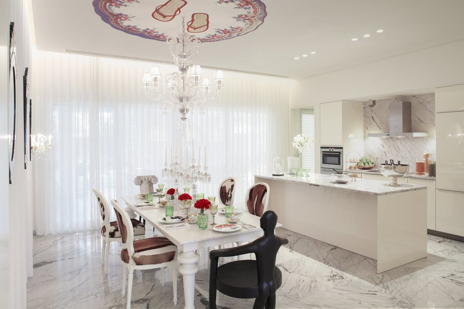 Фотография: Кухня и столовая в стиле Классический, Современный, Декор интерьера, Мебель и свет – фото на INMYROOM