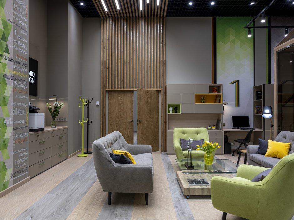 Фотография: Офис в стиле Современный, Гид, Екатерина Гуркова-Шварц, Каширский двор, Premio – фото на INMYROOM