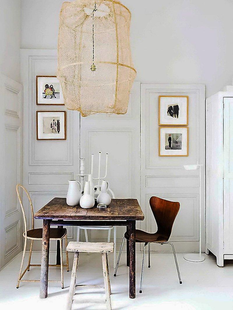 Фотография: Кухня и столовая в стиле , Скандинавский, Декор интерьера, Малогабаритная квартира, Квартира, Цвет в интерьере, Дома и квартиры, Белый – фото на INMYROOM