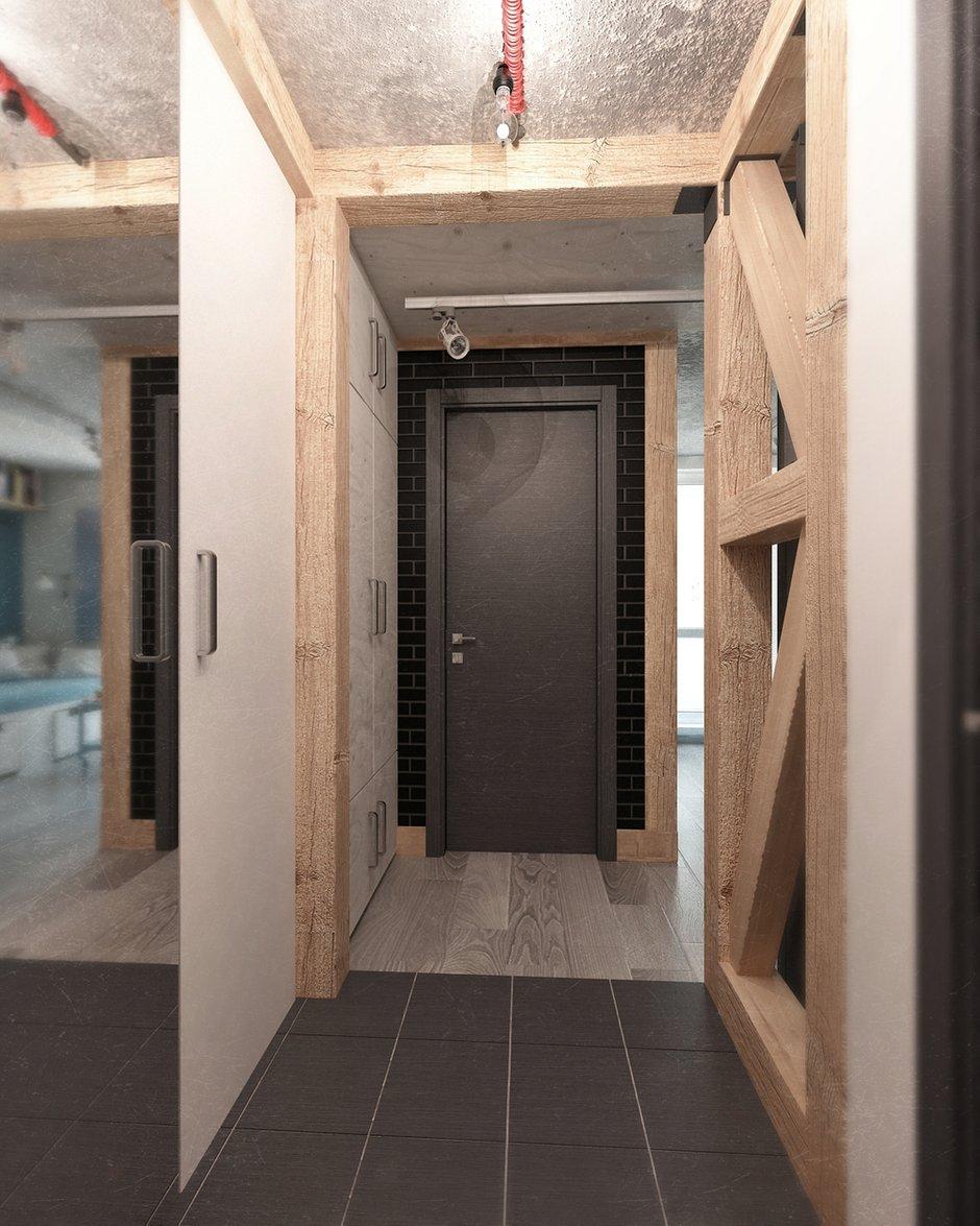Фотография: Прихожая в стиле Лофт, Квартира, Дома и квартиры, IKEA, Проект недели, Cosmorelax – фото на INMYROOM