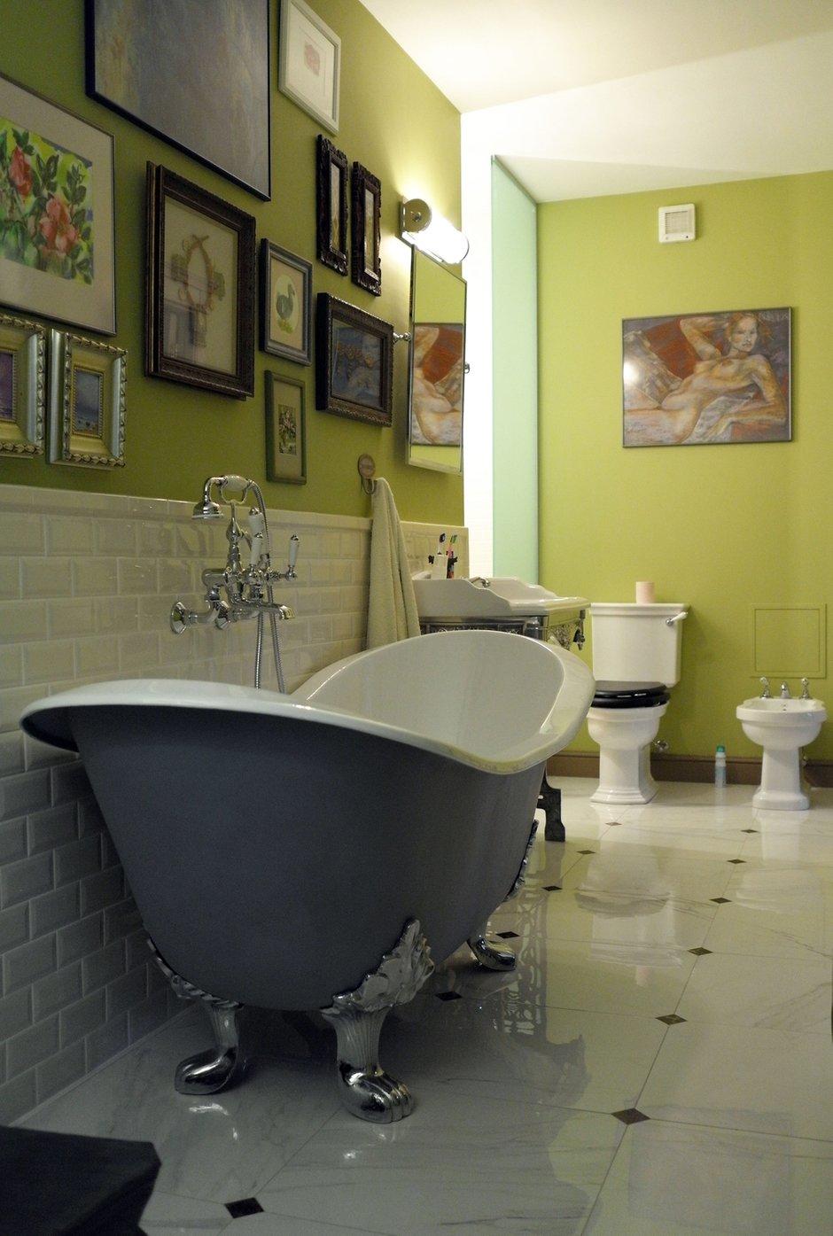 Фотография: Ванная в стиле , Квартира, Eichholtz, Spiridon, Дома и квартиры, Проект недели – фото на INMYROOM