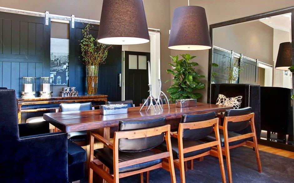 Фотография: Кухня и столовая в стиле Лофт, Декор интерьера, Дом, Дома и квартиры, Бассейн – фото на INMYROOM