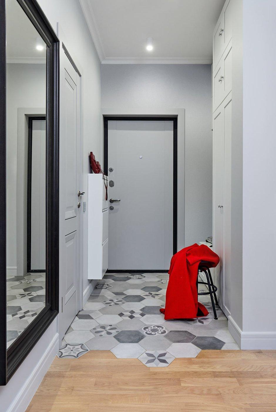 Фотография: Прихожая в стиле Современный, Квартира, Студия, Проект недели, Долгопрудный, 1 комната, до 40 метров, Марина Каралкина – фото на INMYROOM