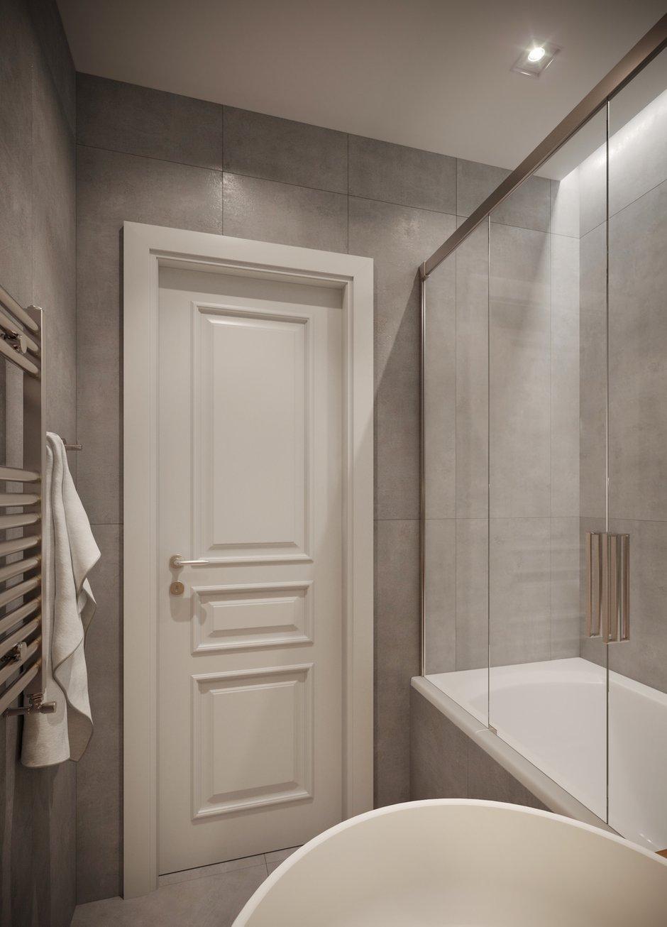 Фотография: Ванная в стиле Современный, Квартира, Проект недели, Санкт-Петербург, 3 комнаты, 60-90 метров, Yucubedesign, Юлия Бабинцева – фото на INMYROOM
