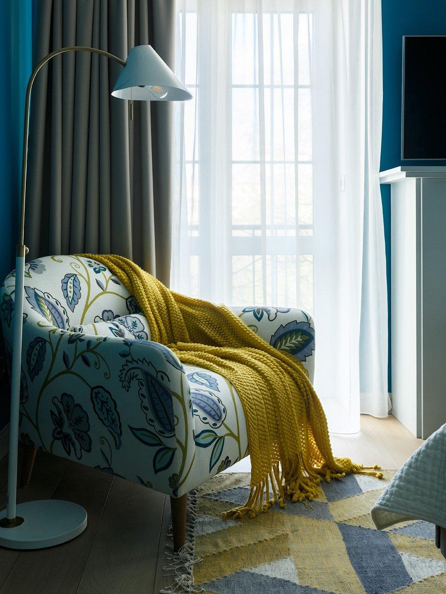 Фотография: Спальня в стиле Скандинавский, Квартира, Проект недели, Москва, Надя Зотова, Сталинка – фото на INMYROOM