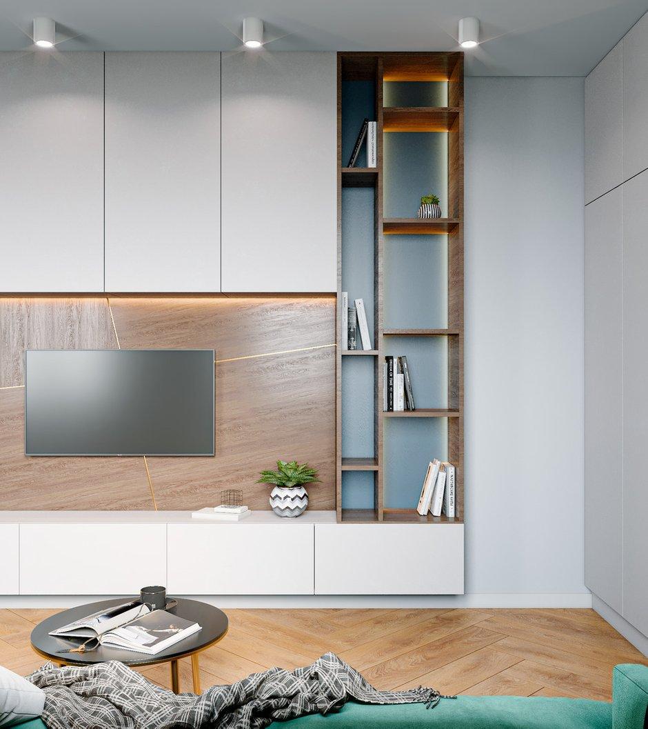 Фотография:  в стиле , Современный, Квартира, Проект недели, 3 комнаты, 60-90 метров, Уфа, Ксения Ланина – фото на INMYROOM
