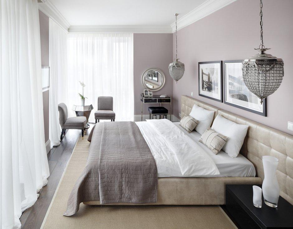 Фотография: Спальня в стиле Современный, Эклектика, Интерьер комнат, Проект недели – фото на INMYROOM