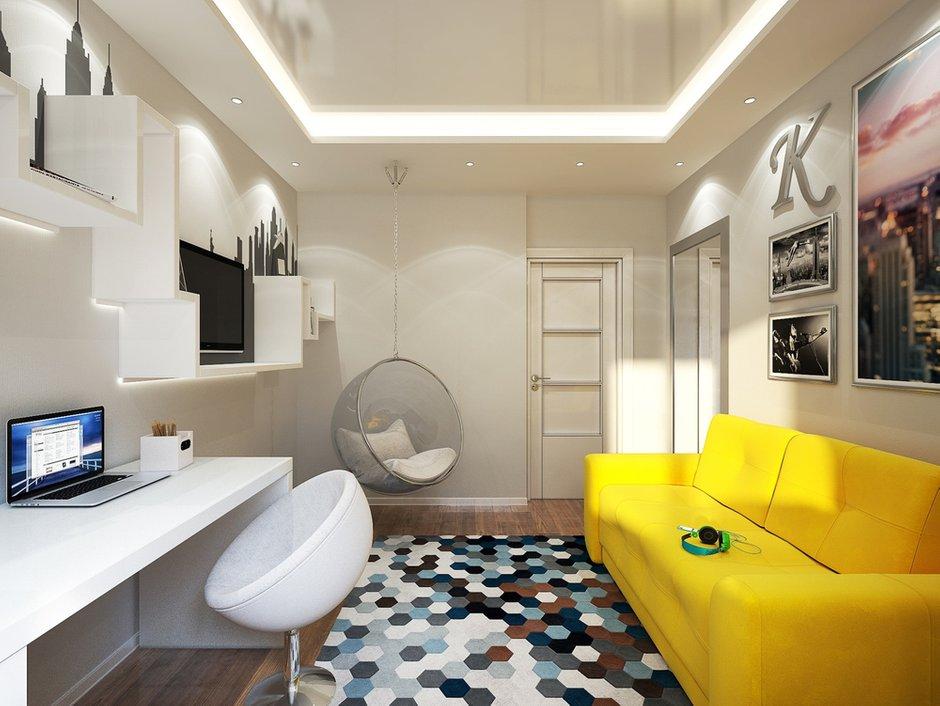 Фотография: Детская в стиле Современный, Хай-тек, Квартира, Дома и квартиры, IKEA, Проект недели, Москва – фото на INMYROOM