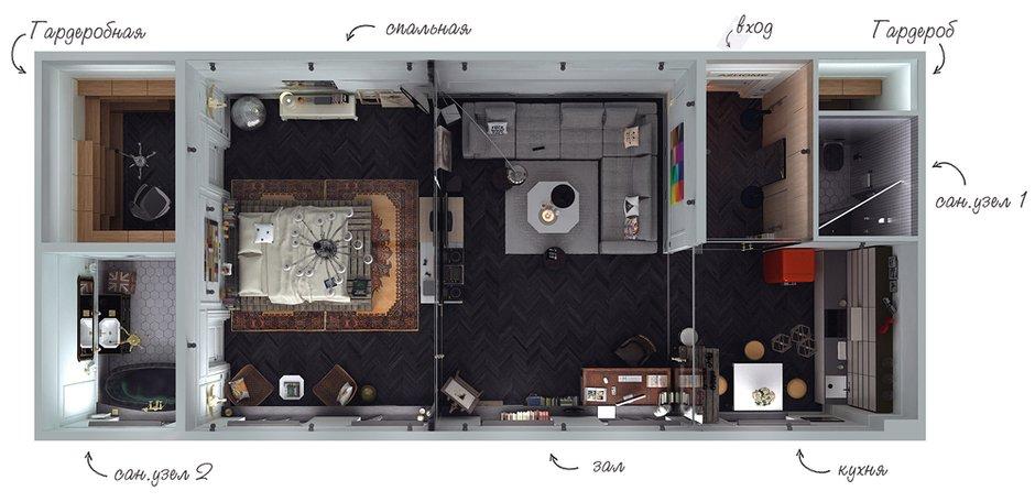 Фотография: Прочее в стиле , Эклектика, Квартира, Дома и квартиры, Проект недели – фото на InMyRoom.ru