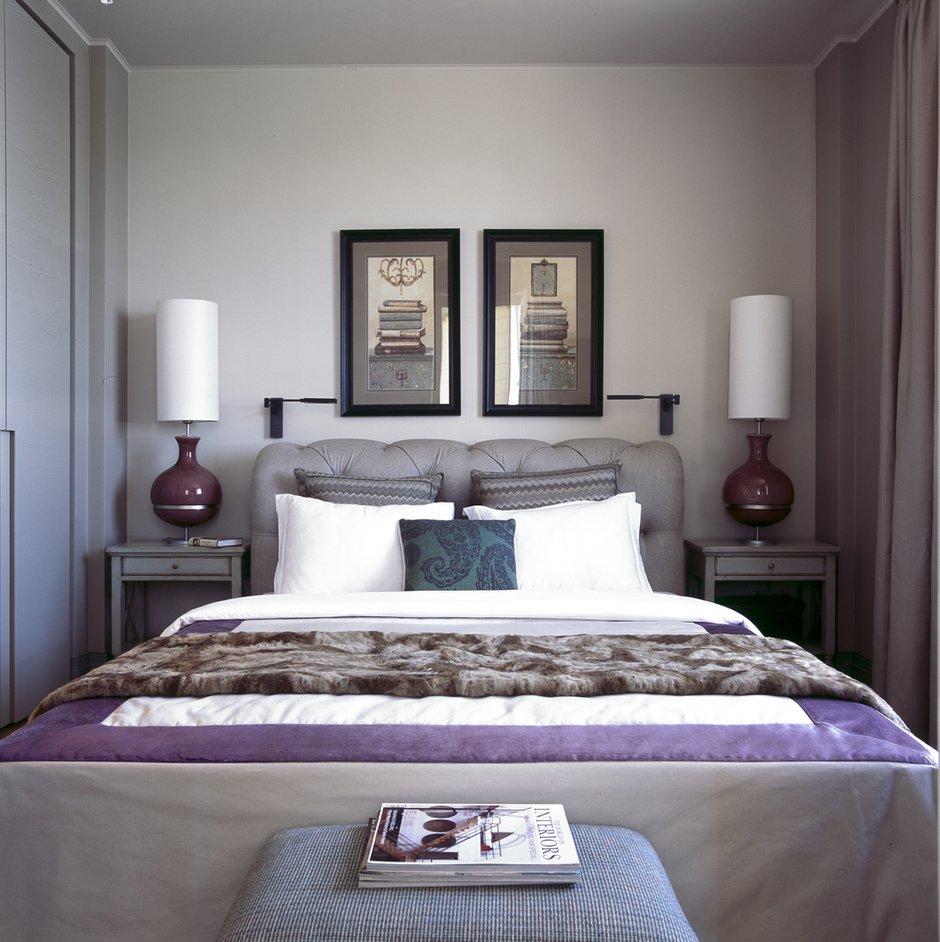 Фотография: Спальня в стиле Прованс и Кантри, Квартира, Дома и квартиры, Проект недели, Москва, Неоклассика – фото на INMYROOM