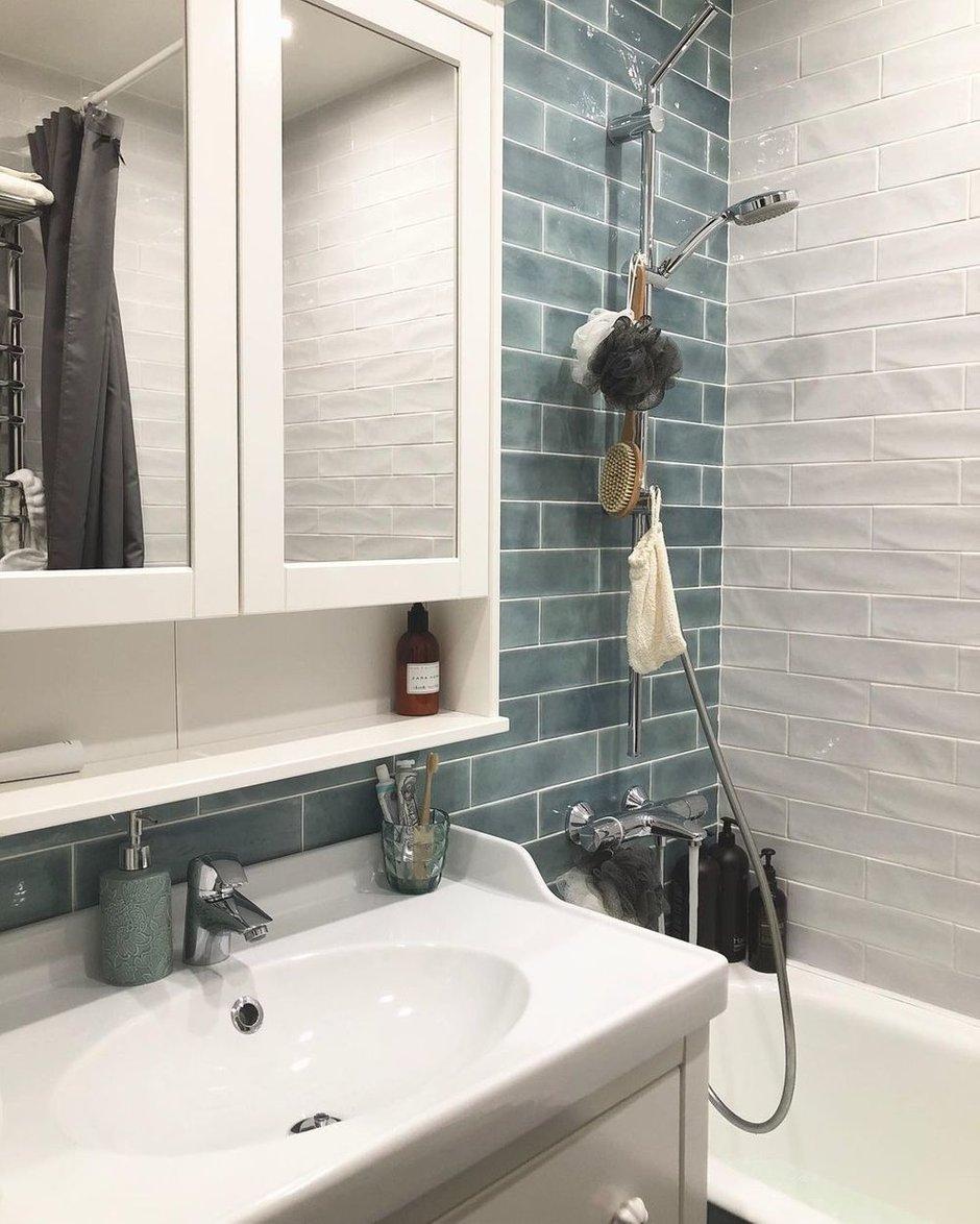 Фотография: Ванная в стиле Скандинавский, Квартира, Проект недели, 3 комнаты – фото на INMYROOM