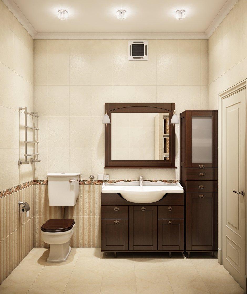 Фотография: Ванная в стиле Прованс и Кантри, Классический, Квартира, Проект недели – фото на INMYROOM