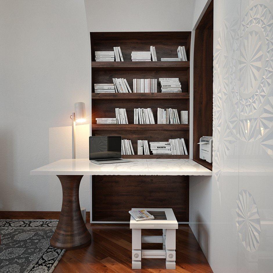 Фотография: Офис в стиле Эклектика, Квартира, Дома и квартиры, Проект недели – фото на INMYROOM