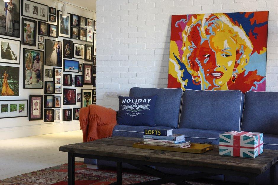 Фотография: Спальня в стиле Прованс и Кантри, Лофт, Эклектика, Квартира, Проект недели – фото на INMYROOM