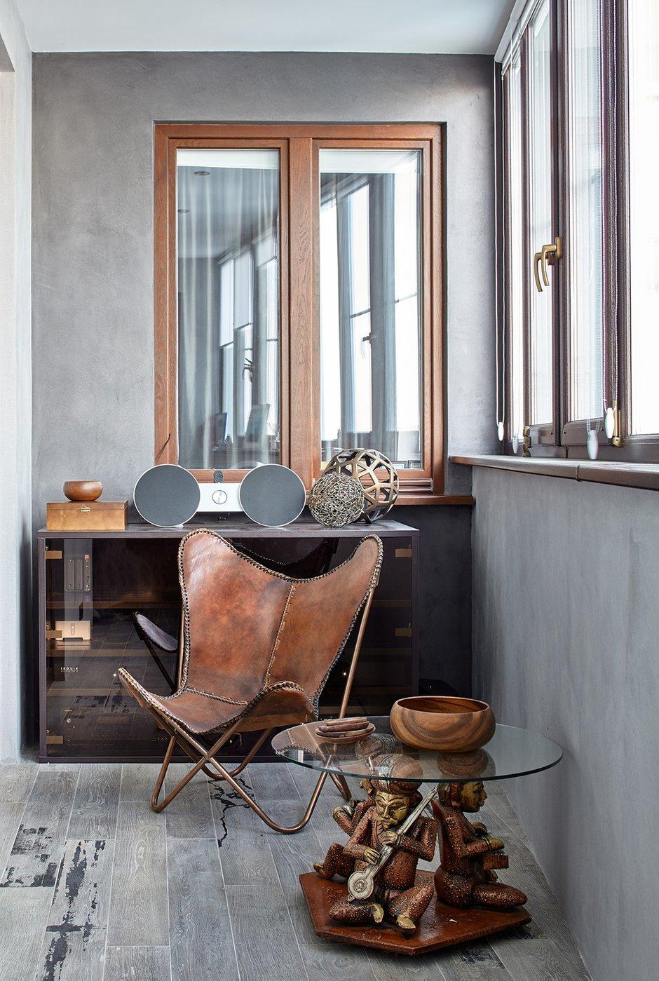 Фотография: Балкон в стиле Эклектика, Квартира, Проект недели, Москва, Елена Семенова – фото на INMYROOM