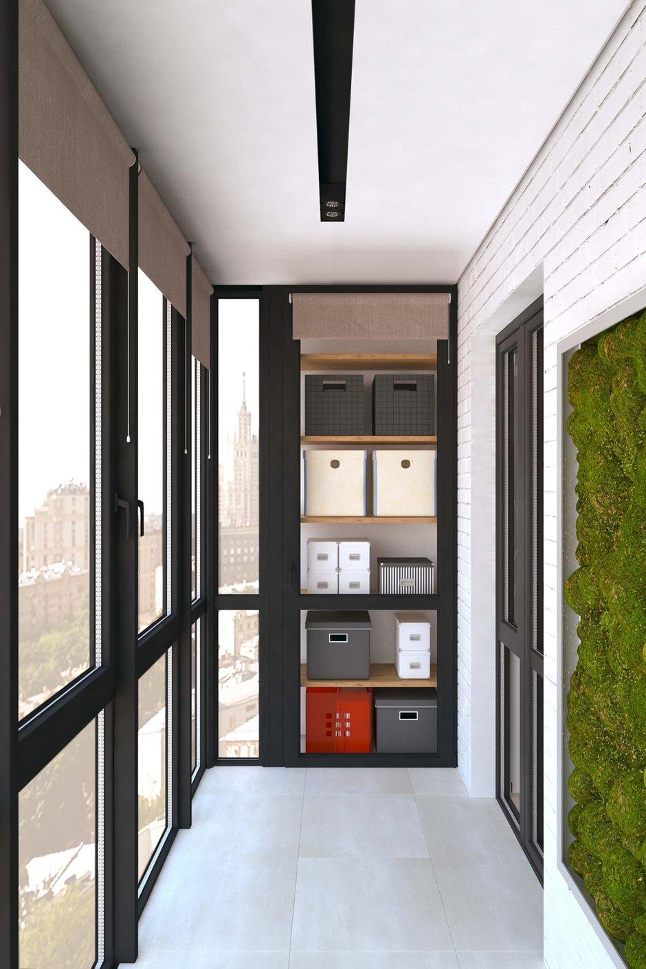Фотография: Балкон в стиле Эко, Квартира, Проект недели, Geometrium – фото на InMyRoom.ru