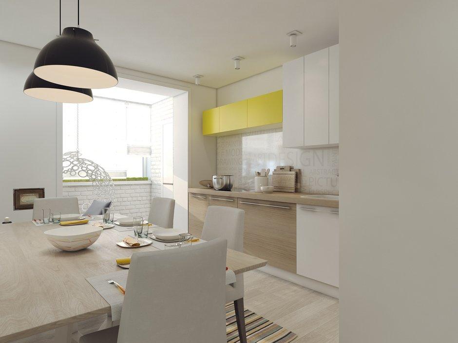 Фотография: Кухня и столовая в стиле Скандинавский, Современный, Квартира, Дома и квартиры, IKEA, Проект недели – фото на INMYROOM