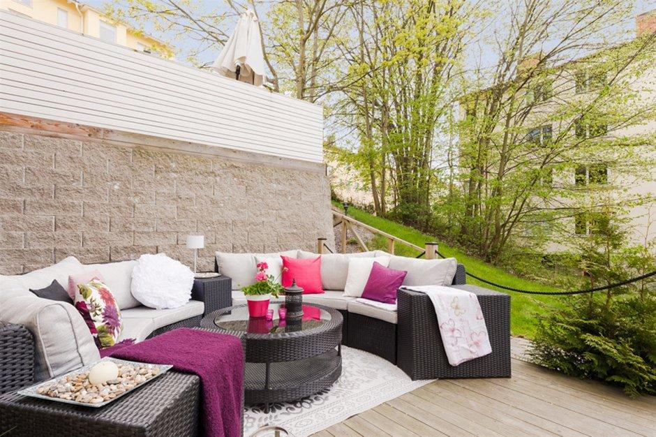 Фотография: Балкон, Терраса в стиле Современный, Скандинавский, Малогабаритная квартира, Квартира, Дома и квартиры – фото на INMYROOM