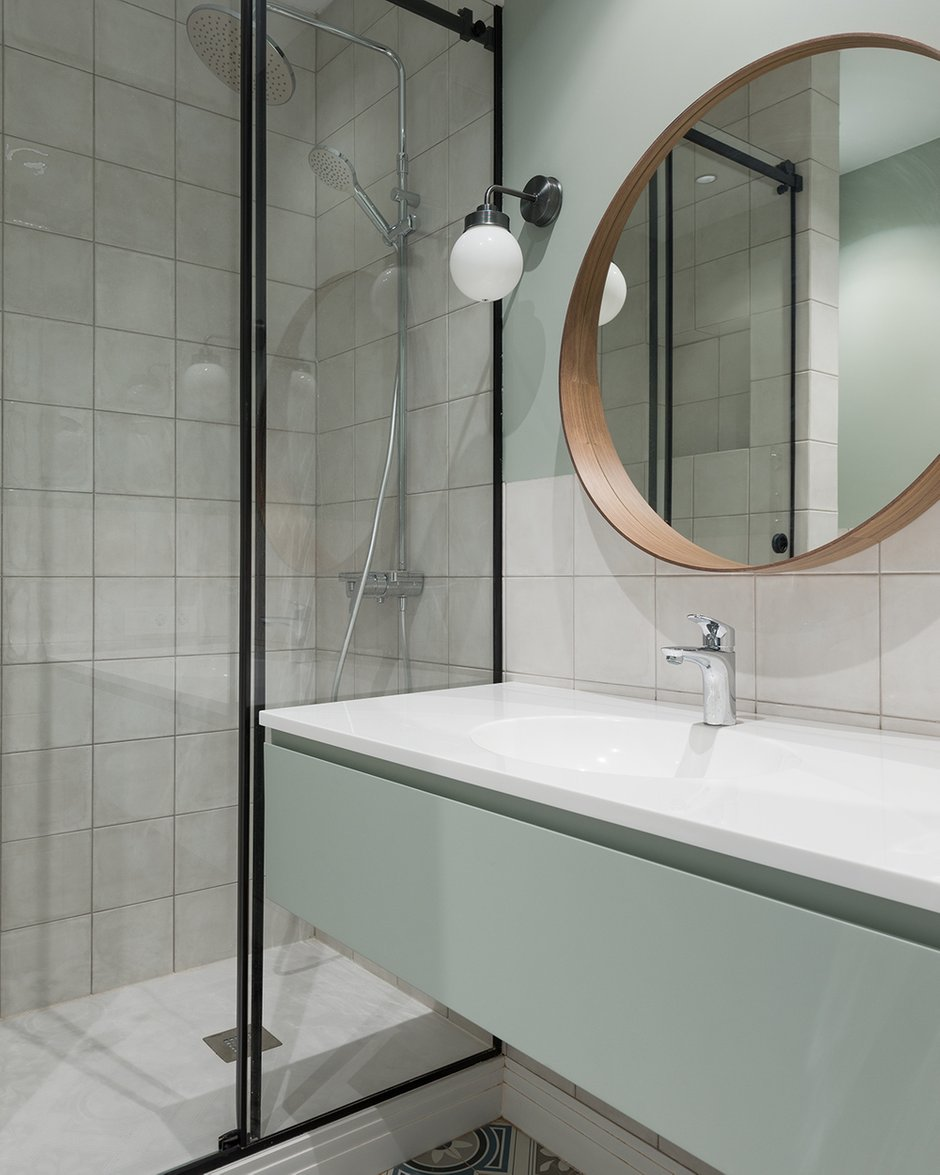 Фотография: Ванная в стиле Современный, Минимализм,  – фото на INMYROOM