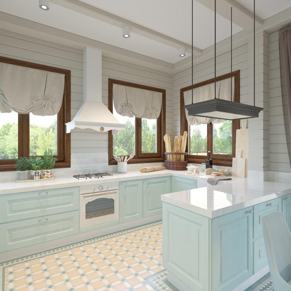 Фотография: Кухня и столовая в стиле Прованс и Кантри, Дом, Проект недели, Дом и дача – фото на INMYROOM