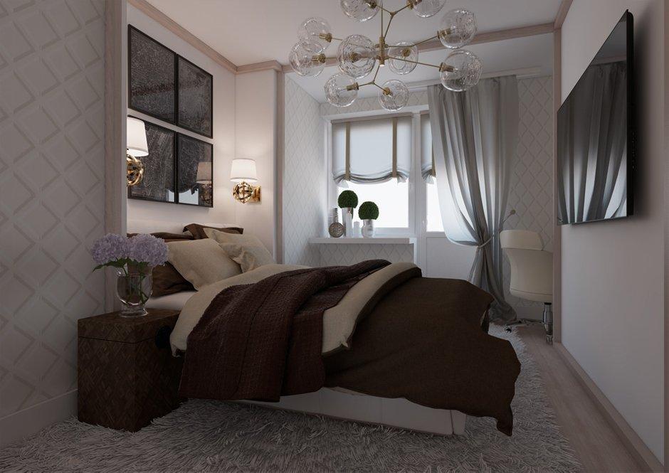 Фотография: Спальня в стиле Современный, Квартира, BoConcept, Дома и квартиры, Проект недели – фото на INMYROOM