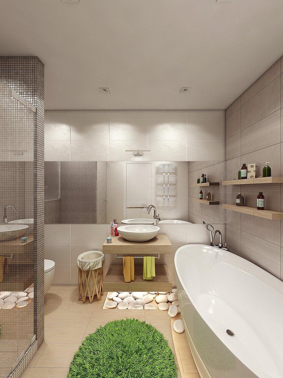 Фотография: Ванная в стиле Эко, Квартира, Дома и квартиры, IKEA, Проект недели – фото на InMyRoom.ru