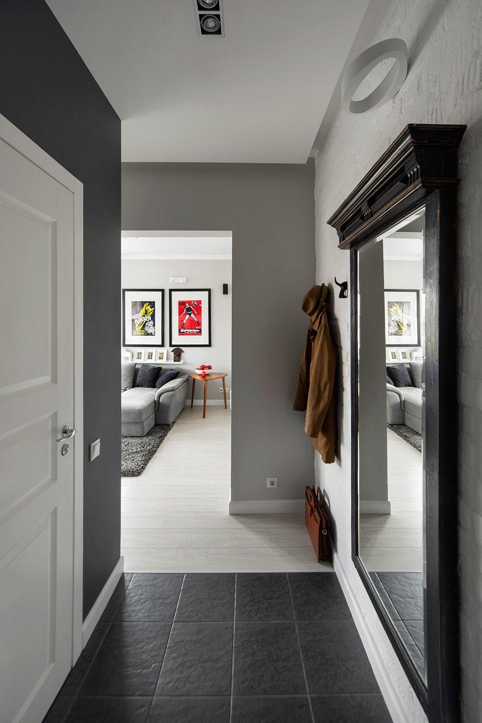 Фотография: Прихожая в стиле Скандинавский, Малогабаритная квартира, Квартира, Дома и квартиры, IKEA, Проект недели, Хрущевка – фото на INMYROOM