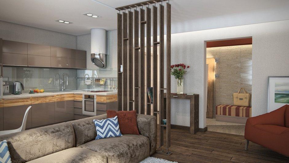 Фотография: Гостиная в стиле Современный, Декор интерьера, Квартира, Дома и квартиры, Проект недели, Ligne Roset – фото на INMYROOM