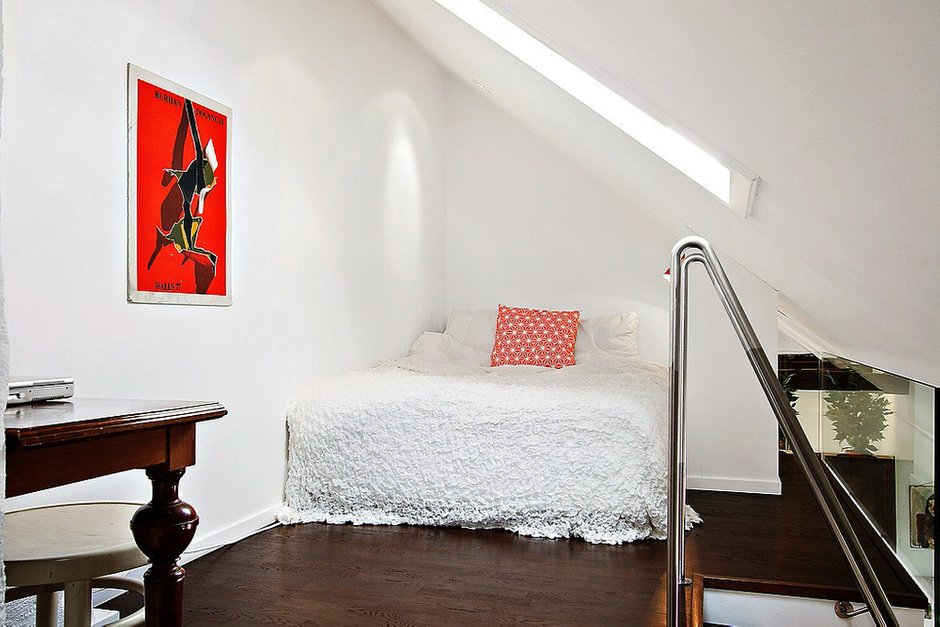 Фотография: Спальня в стиле Скандинавский, Декор интерьера, Малогабаритная квартира, Квартира, Дома и квартиры, Минимализм – фото на INMYROOM